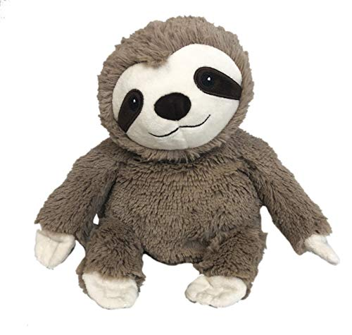 Intelex Warmies Microwavable French Lavender Scented Plush (Brown Sloth)