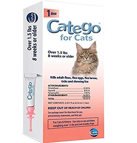 Catego Flea & Tick Control for Cats (Single Dose)