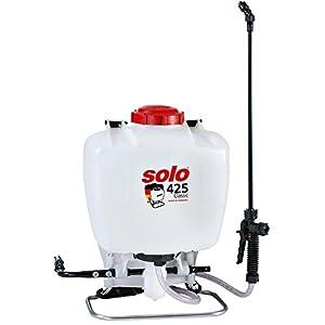 SOLO 425 Pulverizador de Mochila Profesional de 15 litros, Blanco