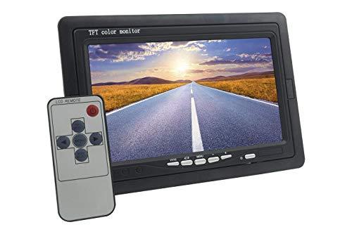 tempo di saldi Monitor LCD 7.0 Pollici Auto Con Telecomando 2 Ingressi AV Per Videosorveglianza