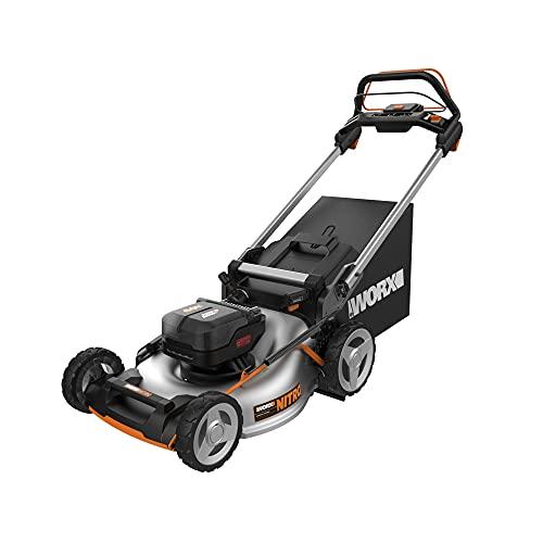 "Worx Nitro WG753 40V Power Share PRO 21"" Cordless Self-Propelled Lawn Mower"