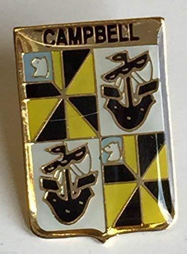 Irlandais Irlande Nom de Clan Campbell Crêté Insigne de Goupille de Revers