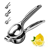 Lemon Squeezer Stainless Steel Manual Fruit Squeezer, Citrus Squeezer Orange Juicer Fruit Juice...