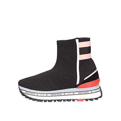 Sneakers Mujeres LIU JO Milano Maxi Alexa Elastick Sock Sintético Negro