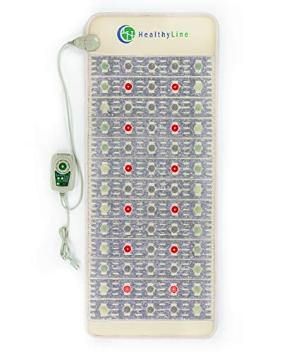 Review Of HealthyLine PEMF Mat - 60in x 24in Firm - 12 LED Photons - 660nm Red Light Therapy - Advan...
