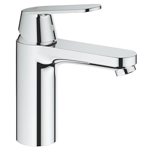 "Grohe Eurosmart Cosmopolitan - Grifo de lavabo Cuerpo liso, Tamaño M, 1/2"" (Ref. 23327000)"