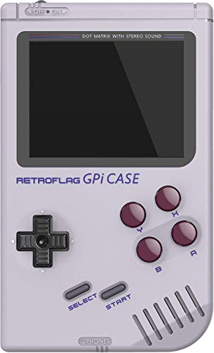 DroiX RETROFLAG GPi Case for Raspberry Pi Zero and Zero W Case Retro Gaming Handheld Portable System