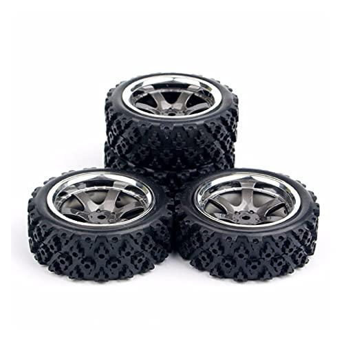 UJETML (H) Neumáticos RC Crawler 4pcs / Set 1:10 RC Neumáticos F HPI RC Neumáticos Rueda Relación 1:10 Off Carry Car Neumáticos RC Slash 4x4 Neumáticos