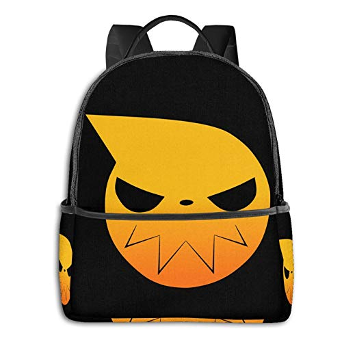 Anime & Soul Eater -(1) Student School Bag School Cycling Leisure Travel Camping Outdoor Backpack