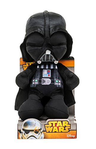 Joy Toy 1400615 - Darth Vader Velboa-Samtplüsch 25 cm in Displaybox
