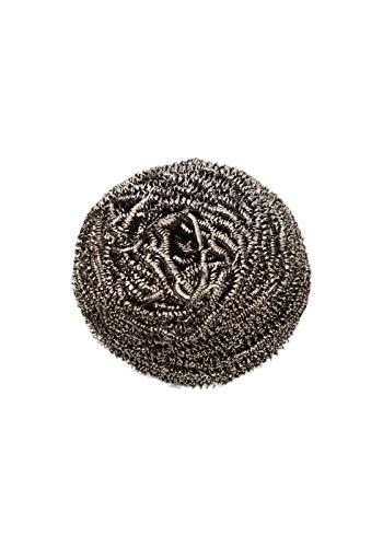10x Edelstahlspirale, Spiral-Topfreiniger, Edelstahl-Topfkratzer, 60 gr.