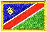 Flaggen Aufnäher Patch Namibia Fahne Flagge NEU