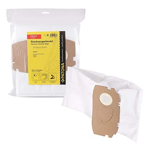 PATONA 5x Stofzuigerzak 498410 456772 compatibel met Festool Cleantec CT/CTL Mini, scheurvaste filterzak - synthetisch vlies