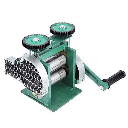 Alucy Draagbare Rolling Mill Machine, Handmatige Sieraden maken Gereedschap Tablet Pers Machine, Combinatie Sieraden Rolling Molen Machine voor Juweliers en Ambachten Mensen