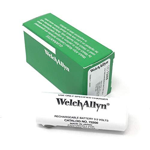 Genuine Welch Allyn 3.5V 72200 Rechargeable Battery (Welch Allyn 300 Series)