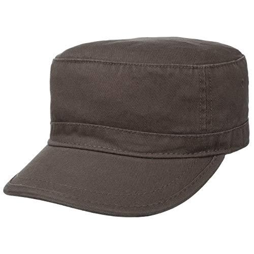Hutshopping Warring Armycap braun Herren - Military Cap aus 100% Baumwolle - Armymütze in Einheitsgröße (55-61 cm) - Mütze mit Klettverschluss