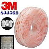 StickersLab - Dual lock SJ 3560 3M velcro adesivo da 25mm - 25mm X 1MT