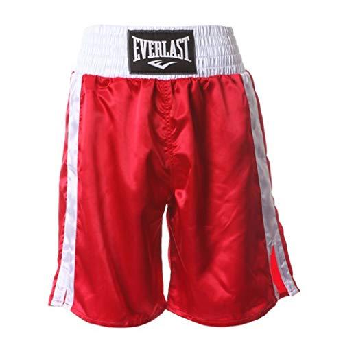 Everlast Erwachsene Boxen - Shorts, Rosa (Rot/ Weiß), L, 4413