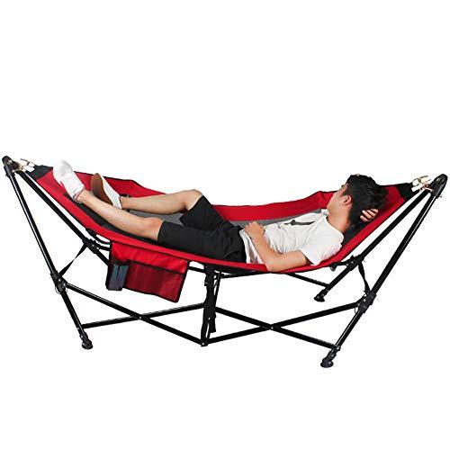 Outdoor met beugel hoogwaardige camping hangmat, scheurvast ademend opvouwbaar gemakkelijk op te bergen draagbare schommelstoel, tuin lounge stoel, volwassen kinderen, dragende 200kg, rijden, reizen, strand