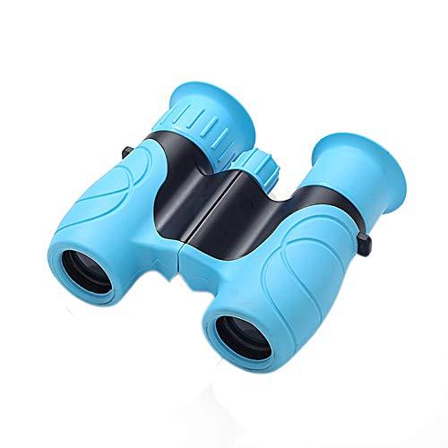 TWW Binoculares telescópicos de Alta ampliación de Alta definición niños y niñas Especiales, Regalos de jardín de Infantes de la Escuela Primaria,Azul