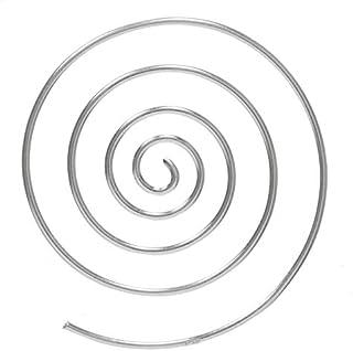 Pendientes minimalistas Plata de Ley espiral