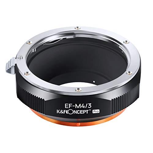 K&F Concept レンズマウントアダプター Pシリーズ KF-EFM43.P (キヤノンEFマウントレンズ → マイクロフォーサーズマウント変換)