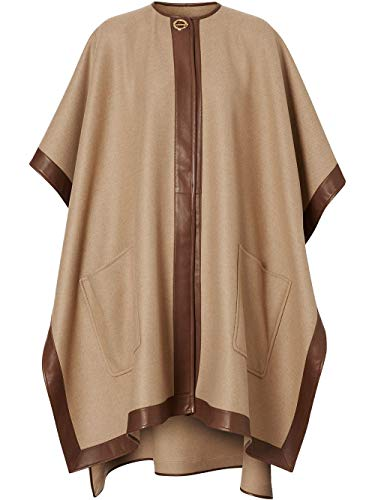 BURBERRY Luxury Fashion Damen 8023662 Beige Poncho | Frühling Sommer 20