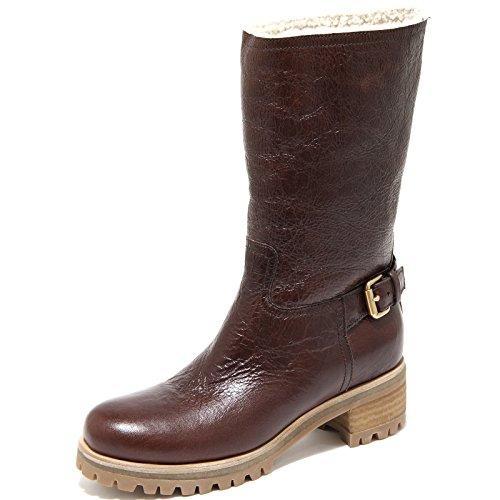 Prada 61949 Stivale Sport Montone Vintage Scarpa Donna Boots Shoes Women [36,5]