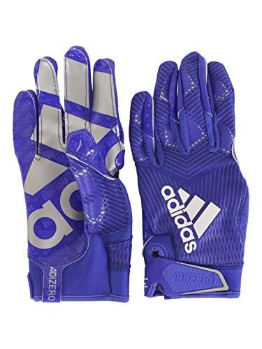 adidas Adizero-8.0 - Guantes de fútbol para hombre - Azul - XXX-Large