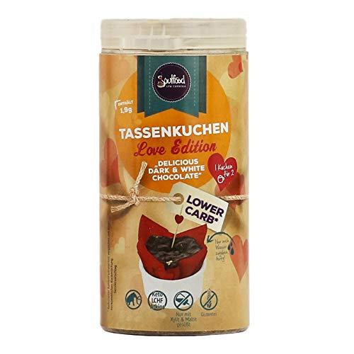 Soulfood Lowcarberia Love Tassenkuchen, 1er Pack (1 x 100 g)