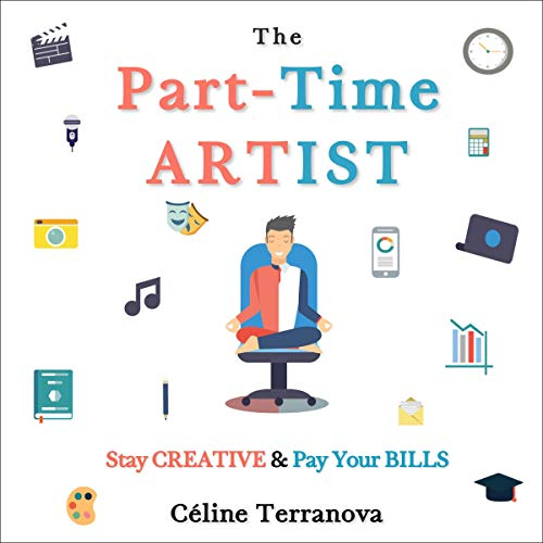 The Part-Time Artist audiobook cover art
