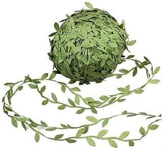 SKEIDO 20m Artificial Vines, Artificial Leaf Garlands Fake DIY Vine Simulation Flower Foliage Green Leaves Decorative Home