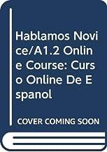 Hablamos Novice/A1.2 Student Online Course: Curso Online de Español