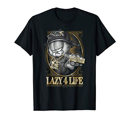Garfield Lazy 4 Life T Shirt