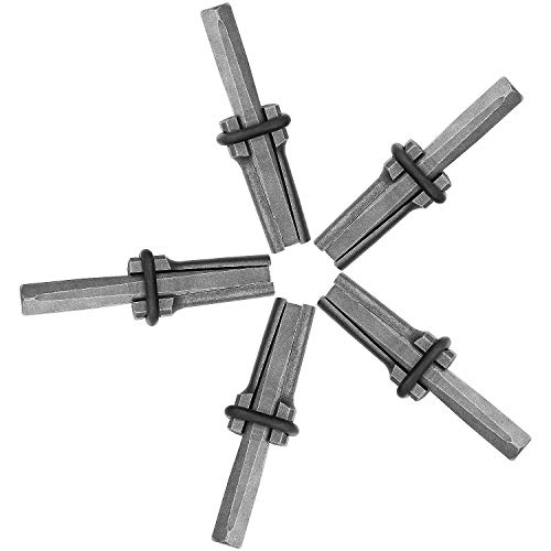 5 Packs of Heavy Duty Wedge and Feather Shims Abuff 3/4 Inch Plug Shim and Wedge Concrete Rock Stone Splitter Hand Tools