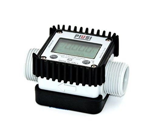 Piusi K24- Contalitri a turbina, display digitale per acqua, Urea, AdBlue, antigelo