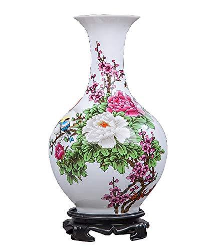 Florero Decorativo casero Chino del Arte del florero casero, peonía