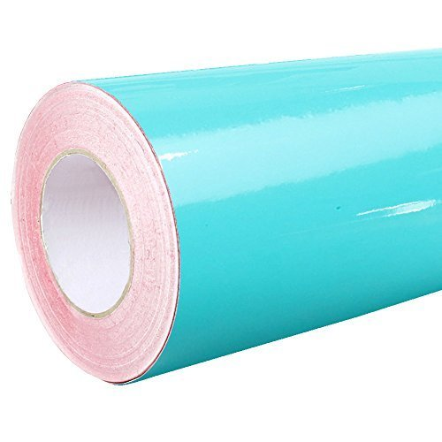 7,06€/m² Rapid Teck® - 054 Tuerkis - Klebefolie - 5m x 31cm - Folie - Plotterfolie - selbstklebend - auch als Moebelfolie - Klebefolie - Dekofolie -