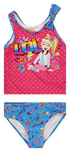 Dreamwave Mädchen-Badeanzug mit authentischen Charakteren, UPF 50 -  Pink -  6X