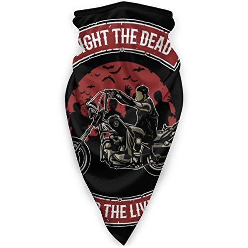 BUGKHD Walking Dead Daryl Dixon Fight The Dead Fear The Living Variety Kopfbedeckung Halstuch Bandana Schal