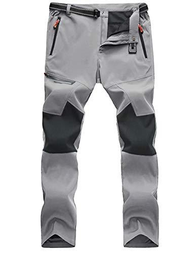 MAGCOMSEN Hiking Pants for Men Waterproof Pants Quick Dry Pants Snow Pants Ski Pants Snowboard Pants Winter Pants Softshell Pants Fall Pants Mens Camping Pants