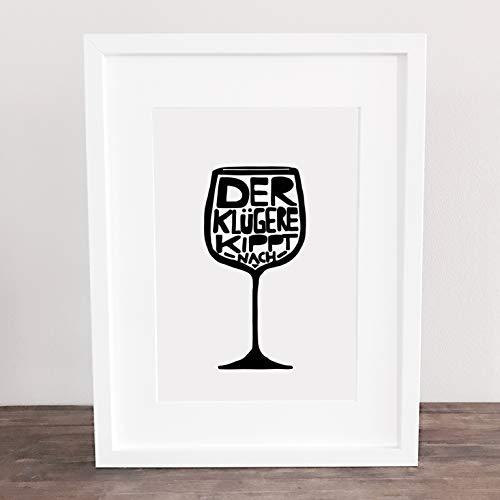 Bild, Poster, Kunstdruck, Küchenbild, Wein, wine, Drinks Deko,