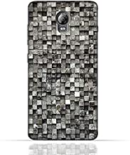 Lenovo Vibe P1 TPU Silicone Case with Old Cube Black Wood Texture