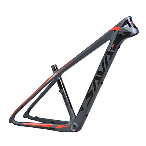 SAVADECK Carbon Bike Frame Full T800 Carbon Fiber MTB BSA Lightweight...