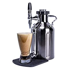 MAKE NITRO AT HOME – the uKeg Nitro brews and infuses to make delicious nitro cold brew Coffee, at the convenience of home. SAVE MONEY – make nitro cold brew for a fraction of the retail cost. NITRO GAS CHARGERS NOT INCLUDED – uses 16g nitro chargers...