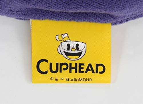 elope Cuphead's Mugman Bad End Reversible Knit Beanie Hat for Adults and Kids Blue