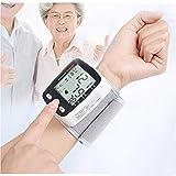 Poignet Tensiomètre Électronique, Transmission Vocale Anglais Moniteur Fréquence Cardiaque Poignet, Charge USB D'affichage LCD Numérique Santé Domicile