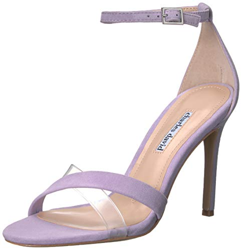 Charles David Women's Courtney Heeled Sandal lilac 8 M US
