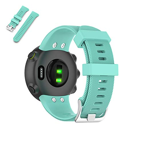Learn More About Weinisite Watch Band for Garmin Forerunner 45,Soft Silicone Replacement Wristband f...