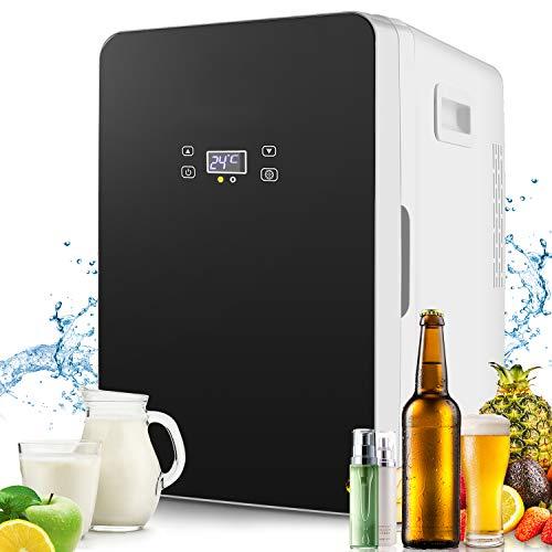Compact Fridge Electric Cooler and Warmer(20 Liter), AC/DC Portable Refrigerator, Single Door freezer(With Digital Display)